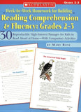 Week-by-Week Homework for Building Reading Comprehension & Fluency: Grades 2–3: 30 Reproducible High-Interest Passages for Kids to Read Alou