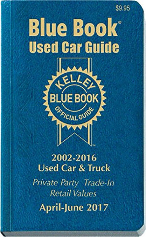 Kelley Blue Book Consumer Guide Used Car Edition: Consumer Edition (Kelley Blue Book Used Car Guide Consumer Edition)
