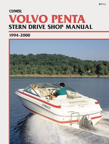 Clymer Volvo Penta Stern Drive Shop Manual, 1994-2000