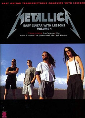 Metallica for Easy Guitar with Lessons, Vol. 1