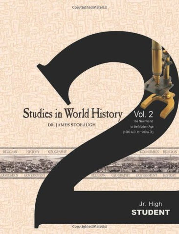 Studies in World History Volume 2 (Student)