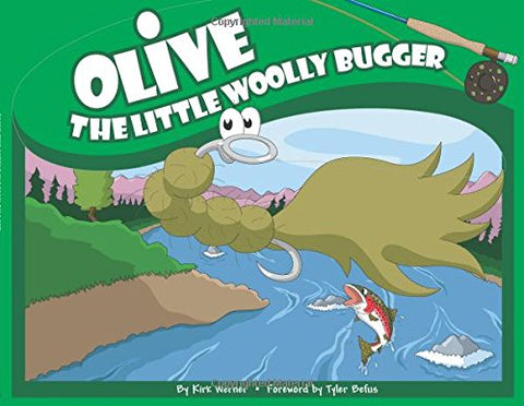 Olive the Little Woolly Bugger (Olive Flyfishing)
