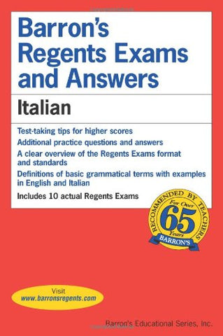 Italian (Barron's Regents Exams and Answers)