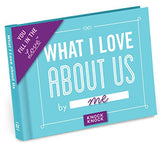 Knock Knock What I Love about Us Fill in the Love Journal