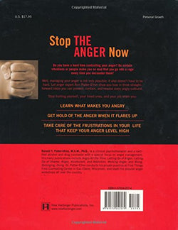 Stop the Anger Now: A Workbook for the Prevention, Containment, and Resolution of Anger