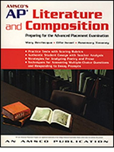 AMSCO's AP Literature and Composition: Preparing for the Advanced Placement Examination