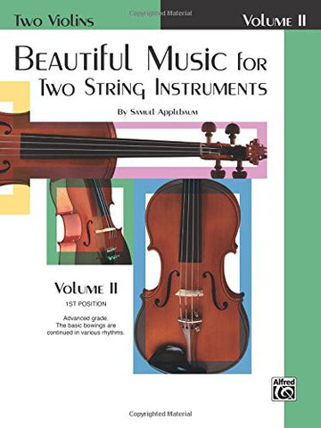 Beautiful Music for Two String Instruments, Bk 2: 2 Violins (Two Violins)