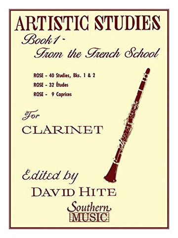 Artistic Studies, Book 1 (French School): Clarinet