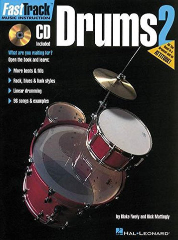 FastTrack Music Instruction - Drums, Book 2 (Fasttrack Series)