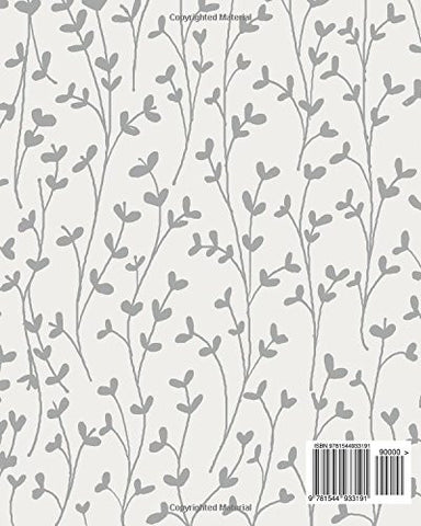 telephone call log book grey floral cover phone call log book 100 pages