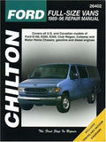 Ford Full-Size Vans, 1989-96 (Chilton Total Car Care Series Manuals)