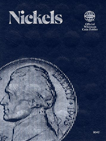 Coin Folders Nickels: Plain (Official Whitman Coin Folder)