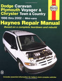 Dodge Caravan, Plymouth Voyager & Chrysler Town & Country: 1996 thru 2002 (Haynes Repair Manuals)