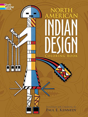 North American Indian Design Coloring Book (Dover Design Coloring Books)