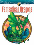 Creative Haven Fantastical Dragons Coloring Book (Adult Coloring)