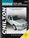 Dodge Pick-Ups, 2002-2008 (Chilton's Total Car Care Repair Manual)