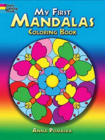 My First Mandalas Coloring Book (Dover Coloring Books)