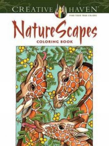Creative Haven NatureScapes Coloring Book (Adult Coloring)