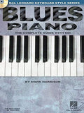 Blues Piano: Hal Leonard Keyboard Style Series (Keyboard Instruction) Bk/online audio