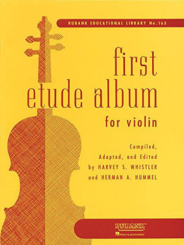 First Etude Album For Violin First Position (Rubank Educational Library)