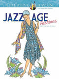 Creative Haven Jazz Age Fashions Coloring Book (Adult Coloring)