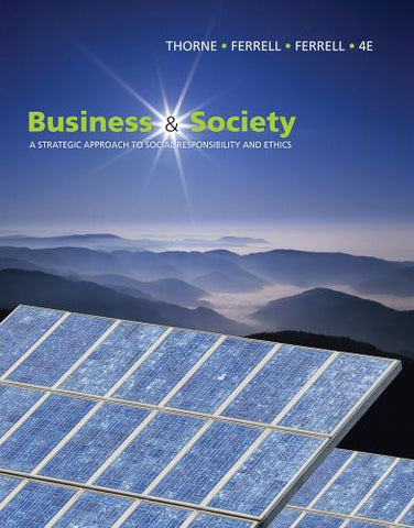 Business and Society: A Strategic Approach to Social Responsibility (Available Titles CourseMate)