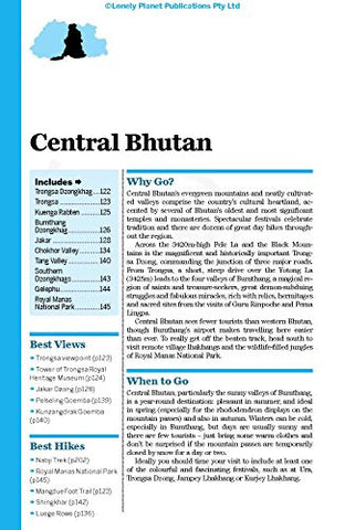 Lonely Planet Bhutan (Travel Guide)