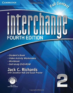 Interchange Level 2 Full Contact with Self-study DVD-ROM (Interchange Fourth Edition)