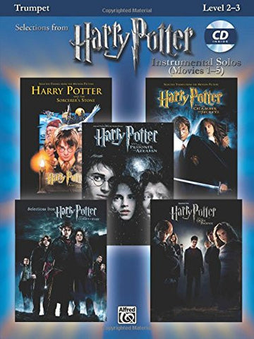 Harry Potter Instrumental Solos (Movies 1-5): Trumpet, Book & CD (Pop Instrumental Solo Series)