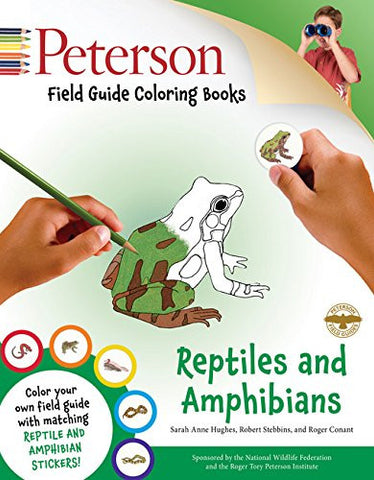 Peterson Field Guide Coloring Books: Reptiles and Amphibians (Peterson Field Guide Color-In Books)