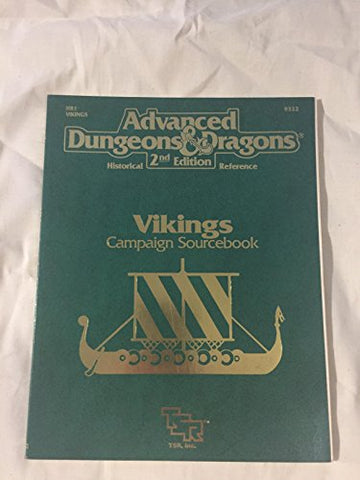 Vikings Campaign Sourcebook (Advanced Dungeons & Dragons, 2nd Edition: Historical Reference/9322/HR1)