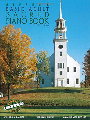 Alfred's Basic Adult Piano Course Sacred Book, Bk 2