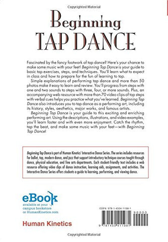 Beginning Tap Dance With Web Resource (Interactive Dance)