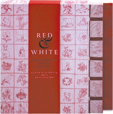 Red & White: American Redwork Quilts & Patterns