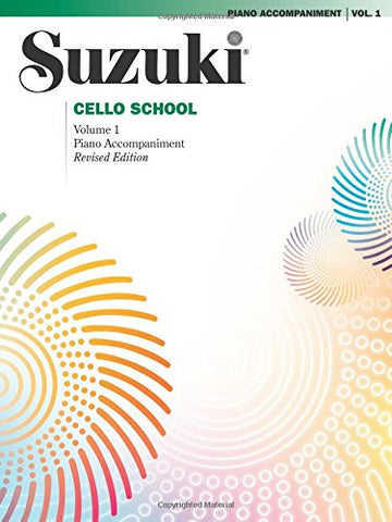 Suzuki Cello School, Vol. 1 (Piano Accompaniment)