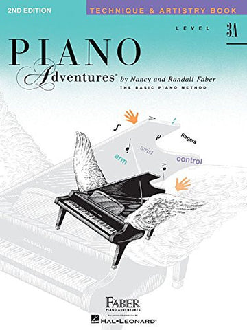Level 3A - Technique & Artistry Book: Piano Adventures