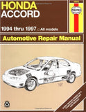Honda Accord 1994-1997 (Haynes Manuals)