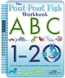 The Pout-Pout Fish: Wipe Clean Workbook ABC, 1-20: Over 50 Pages of Wipe-Clean Letters and Numbers to Practice (A Pout-Pout Fish Novelty)