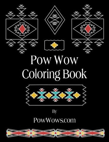 Pow Wow Coloring Book