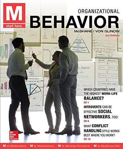 M: Organizational Behavior (Irwin Management)