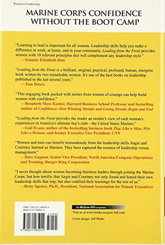 Leading From the Front: No-Excuse Leadership Tactics for Women (Business Books)