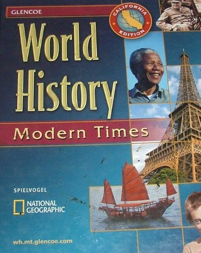 World History - California Edition: Modern Times