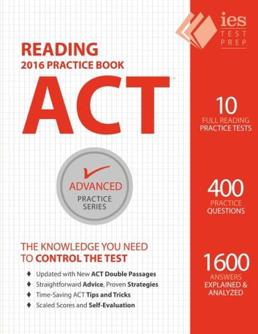 ACT Reading Practice Book (Advanced Practice Series) (Volume 5)