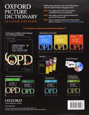 Oxford Picture Dictionary English-Korean: Bilingual Dictionary for Korean speaking teenage and adult students of English (Oxford Picture Dic