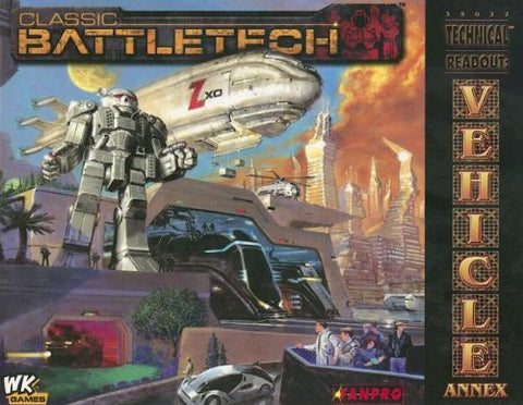 Classic Battletech: Technical Readout: Vehicle Annex (FPR35022)