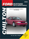 Ford Mustang: 1994 through 2004, Updated to include 1999 through 2004 models (Chilton's Total Car Care Repair Manual)