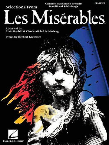 Les Miserables: Instrumental Solos for Clarinet