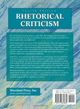 Rhetorical Criticism: Exploration and Practice
