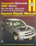 Chevrolet Silverado & GMC Sierra 2007 thru 2013: 2WD and 4WD, Gasoline engines, Includes Chevrolet Suburban and Tahoe, GMC Yukon, Yukon XL,