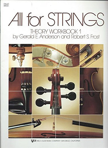 84CO - All For Strings Theory Workbook - Book 1 - Cello